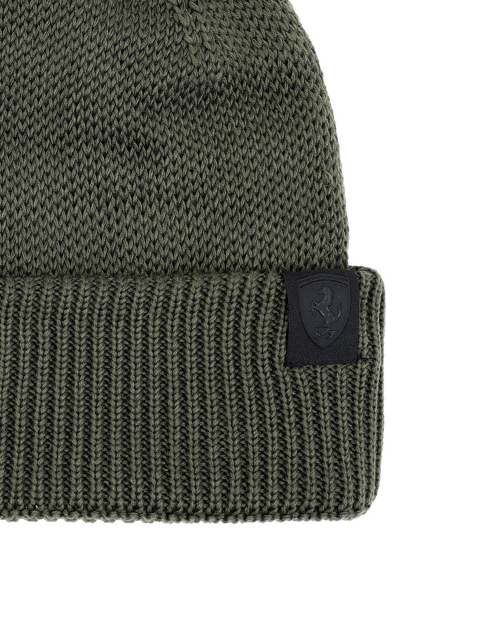 Scuderia Ferrari Online Store - Men's Knit Puma x Scuderia Ferrari beanie - Beanie Hats