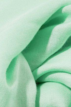 EMILIO PUCCI Cashmere and silk-blend scarf