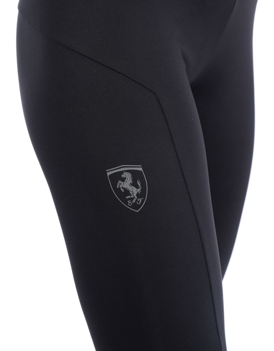 Scuderia Ferrari Online Store - Women's long Puma SF leggings - Tights & Yoga Pants