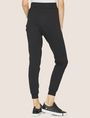 ARMANI EXCHANGE METALLIC APPLIQUE SWEATPANT Fleece Trouser Woman e