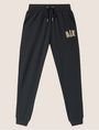 ARMANI EXCHANGE METALLIC APPLIQUE SWEATPANT Fleece Trouser Woman r