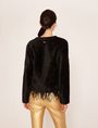ARMANI EXCHANGE FEATHER HEM FUZZY SWEATER Crew Neck [*** pickupInStoreShipping_info ***] e