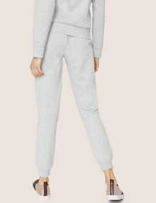 ARMANI EXCHANGE METALLIC APPLIQUE SWEATPANT Fleece Pant Woman e