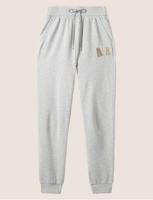 ARMANI EXCHANGE METALLIC APPLIQUE SWEATPANT Fleece Pant Woman r