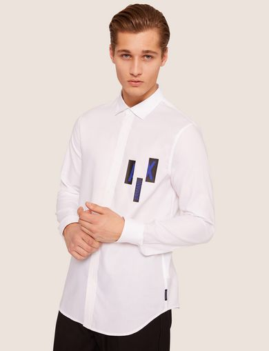 Armani Exchange Men s Shirts - Dress   Casual   A X Store   a23f60cbcf
