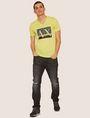 ARMANI EXCHANGE SLIM-FIT CLASSIC BOXED LOGO V-NECK Logo T-shirt Man d