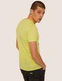 ARMANI EXCHANGE SLIM-FIT CLASSIC BOXED LOGO V-NECK Logo T-shirt Man e