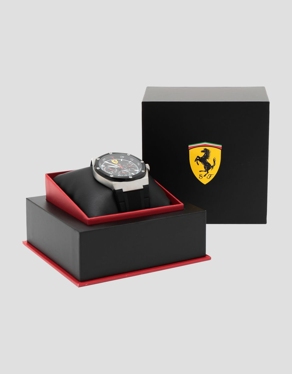 Scuderia Ferrari Online Store - Aspire multifunctional watch in black -