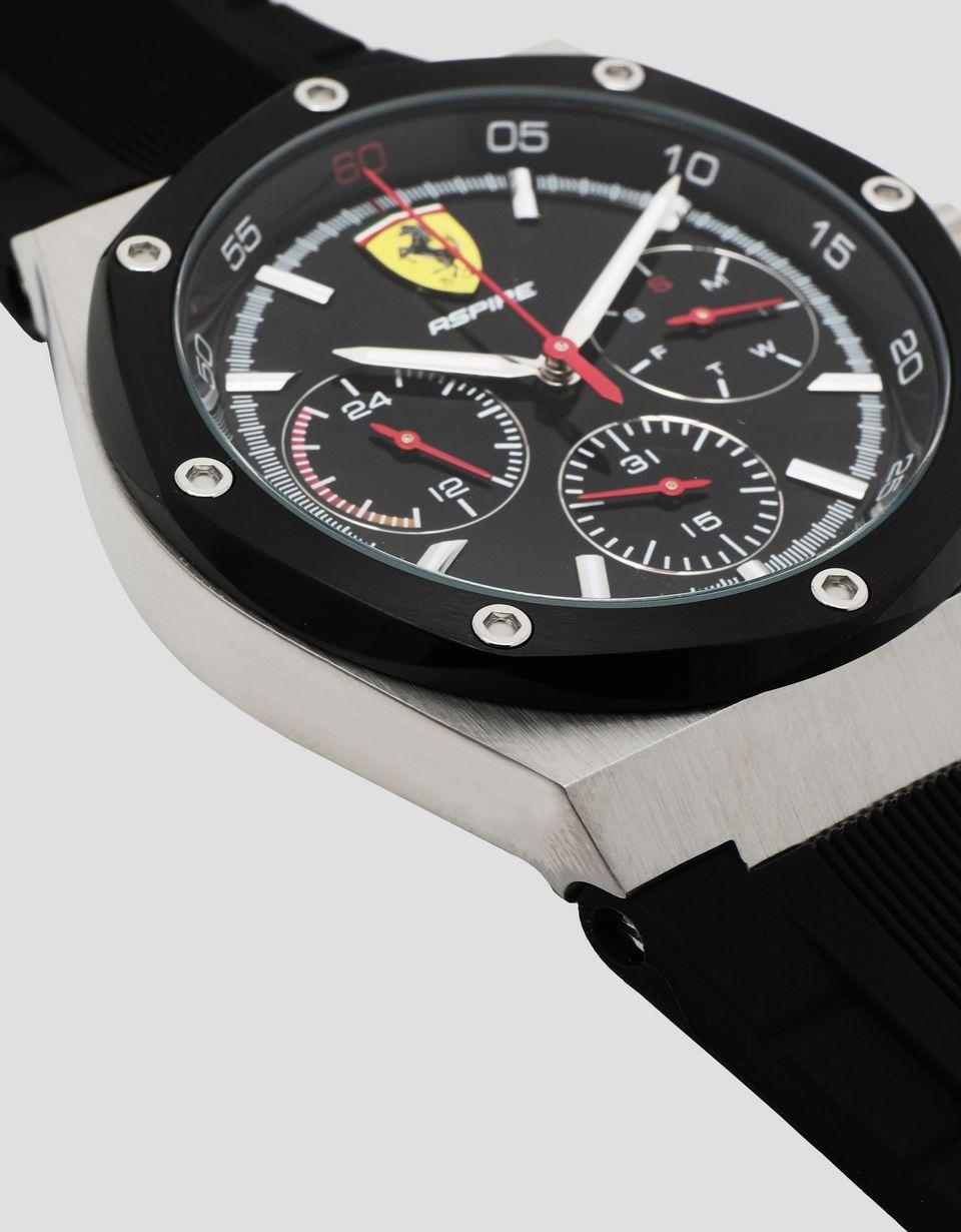 Scuderia Ferrari Online Store - Orologio multifunzione Aspire nero - Orologi al Quarzo