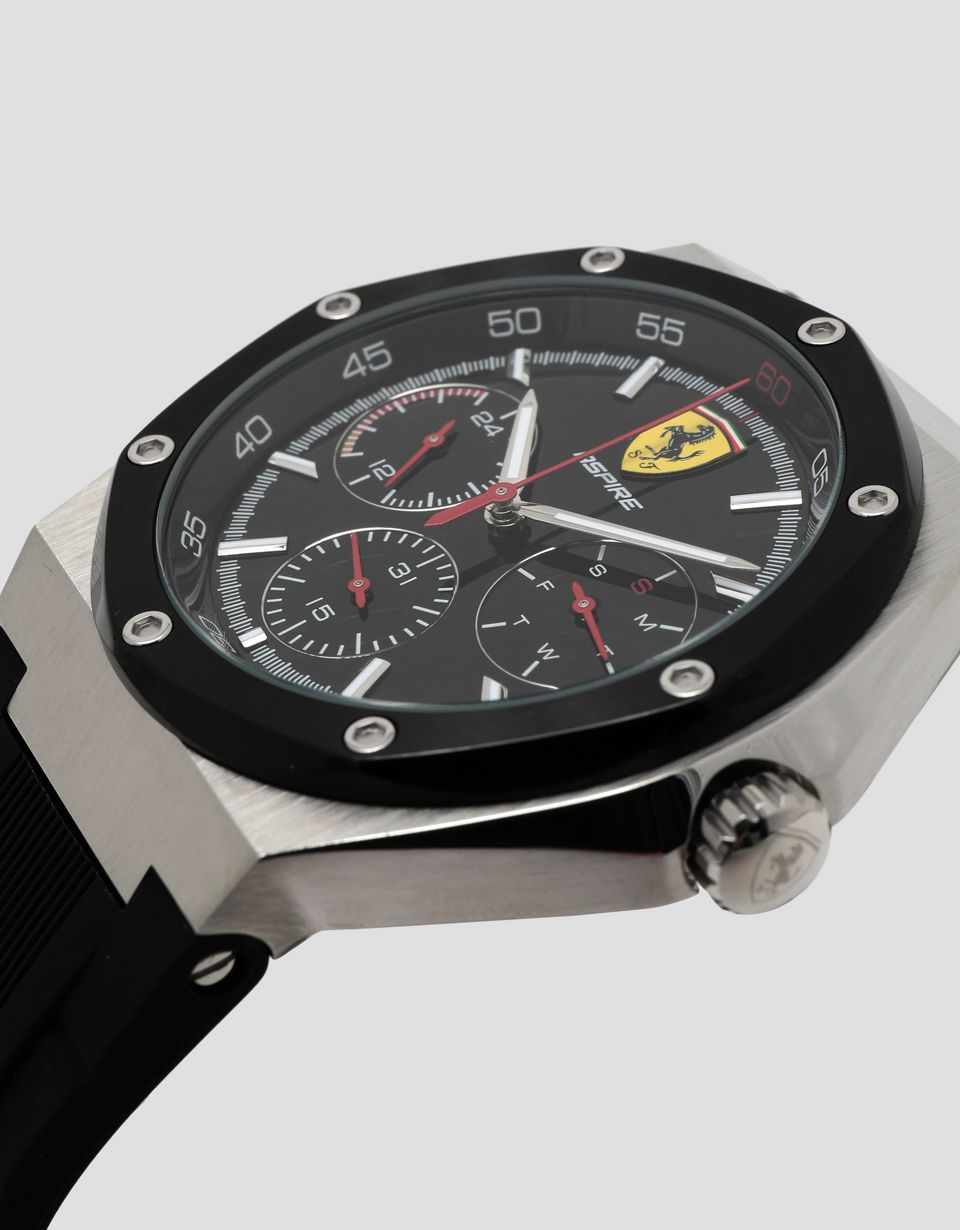 Scuderia Ferrari Online Store - Aspire multifunctional watch in black - Quartz Watches