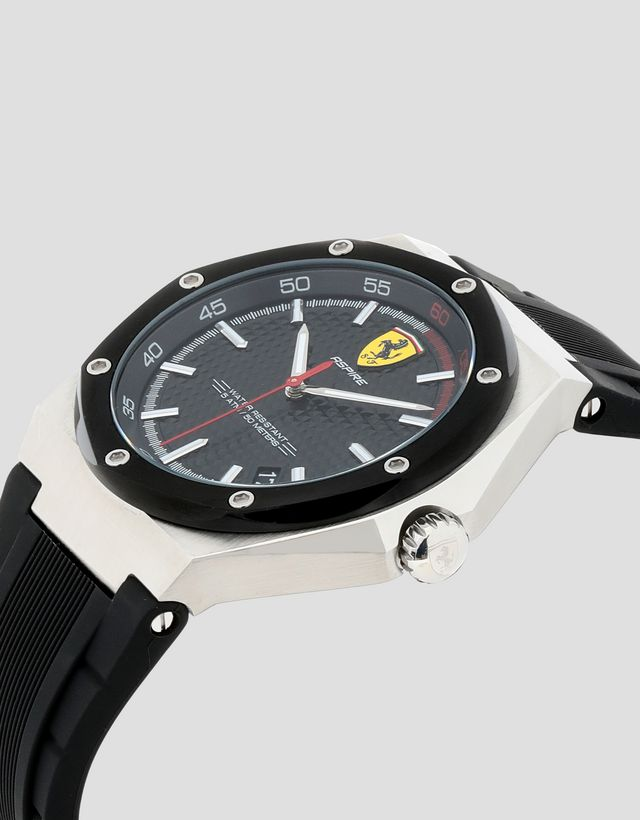 a8a45fffdc ... Scuderia Ferrari Online Store - Aspire watch with black dial and strap  - Quartz Watches ...