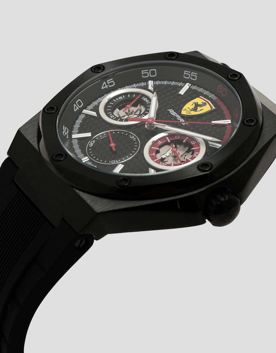 Scuderia Ferrari Online Store - Aspire multifunctional watch with black dial - Chrono Watches