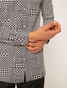 ARMANI EXCHANGE REGULAR-FIT MULTI HOUNDSTOOTH SHIRT Long sleeve shirt Man b
