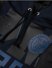 ARMANI EXCHANGE BOYS COLLEGIATE LETTER LOGO HOODIE Pullover [*** pickupInStoreShippingNotGuaranteed_info ***] d