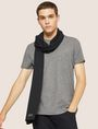 ARMANI EXCHANGE CASHMERE BLEND RECTANGULAR SCARF Scarf [*** pickupInStoreShippingNotGuaranteed_info ***] r