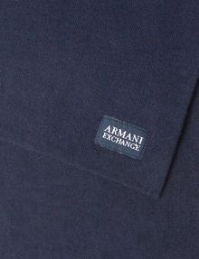 ARMANI EXCHANGE CASHMERE BLEND RECTANGULAR SCARF Scarf [*** pickupInStoreShippingNotGuaranteed_info ***] e