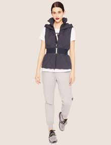 ARMANI EXCHANGE STRIKETHROUGH SWEATPANT Fleece Trouser Woman d