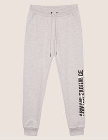 ARMANI EXCHANGE STRIKETHROUGH SWEATPANT Fleece Trouser Woman r