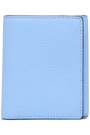 KATE SPADE New York Scalloped textured-leather wallet