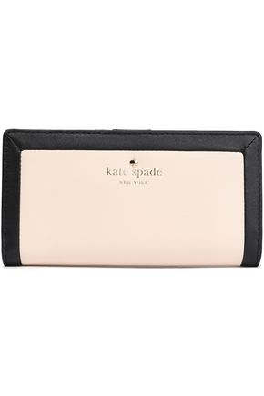 KATE SPADE New York Two-tone leather continental wallet