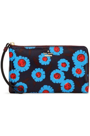 KATE SPADE New York Floral-print coated-canvas wallet