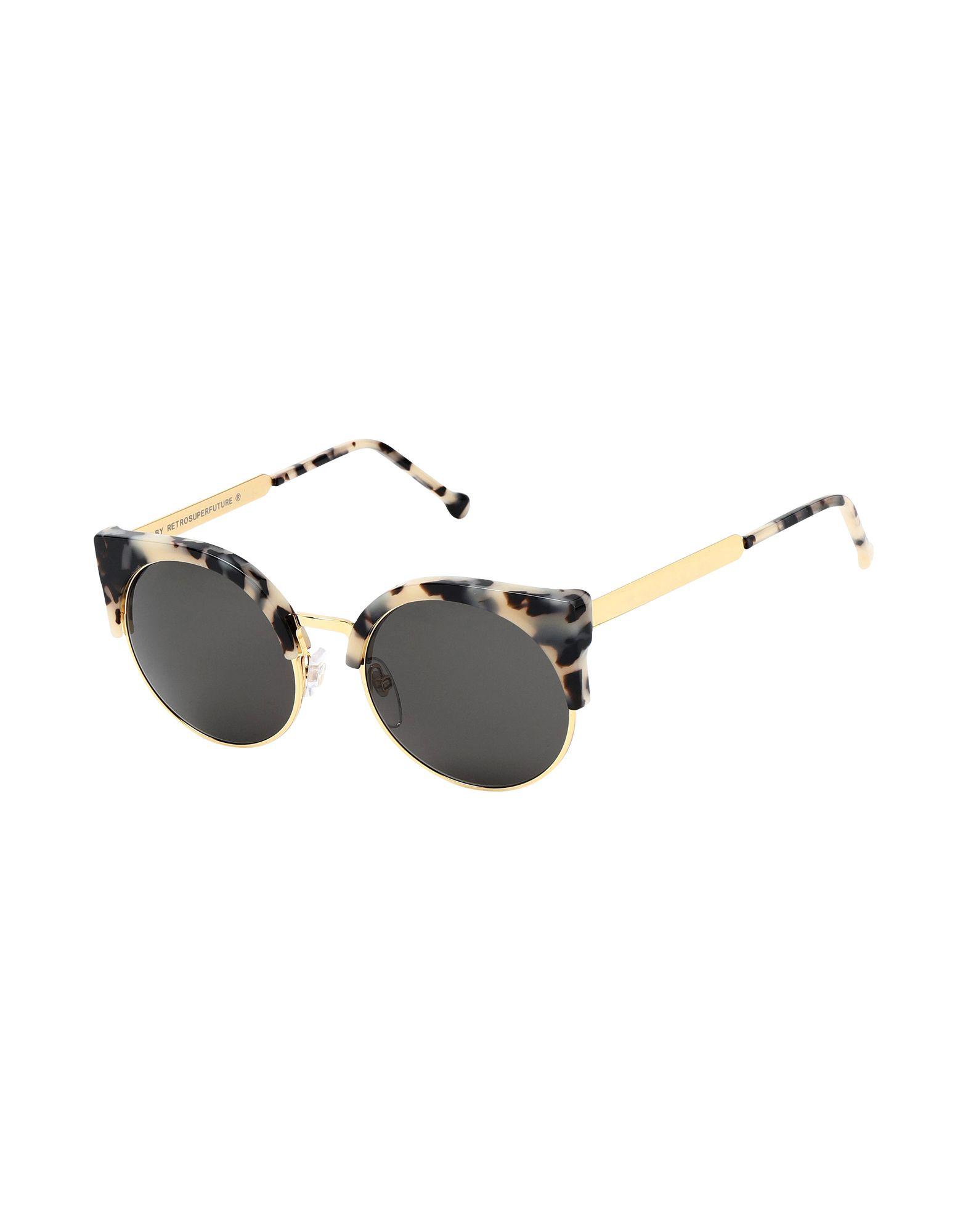SUPER by RETROSUPERFUTURE Солнечные очки бусины monisto стекло кошачий глаз круглые 4мм оранжевый около 66шт нить 14z7738