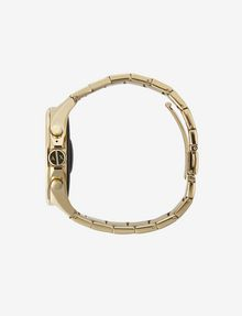 ARMANI EXCHANGE Touchscreen Smartwatch mit goldenem Stahlarmband Uhr E a
