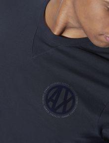 ARMANI EXCHANGE CIRCLE LOGO CREWNECK TEE Logo T-shirt [*** pickupInStoreShippingNotGuaranteed_info ***] b