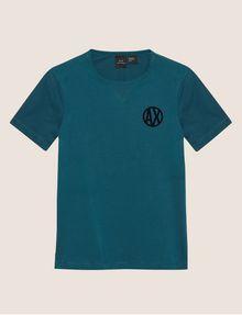 ARMANI EXCHANGE CIRCLE LOGO CREWNECK TEE Logo T-shirt [*** pickupInStoreShippingNotGuaranteed_info ***] r