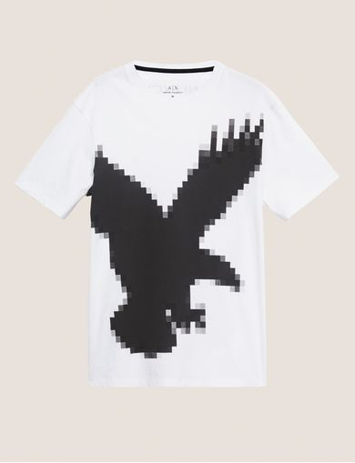 ARMANI EXCHANGE T-shirt grafica Uomo R