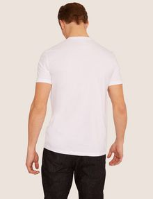 ARMANI EXCHANGE SLIM-FIT NEON SIGN CREW Logo T-shirt Man e
