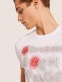 ARMANI EXCHANGE SLIM-FIT NEON SIGN CREW Logo T-shirt Man b
