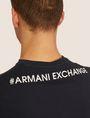 ARMANI EXCHANGE REGULAR-FIT DIGITAL EAGLE CREW Graphic T-shirt Man b