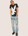 ARMANI EXCHANGE REGULAR-FIT DIGITAL EAGLE CREW Graphic T-shirt Man d