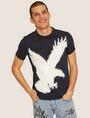 ARMANI EXCHANGE REGULAR-FIT DIGITAL EAGLE CREW Graphic T-shirt [*** pickupInStoreShippingNotGuaranteed_info ***] f