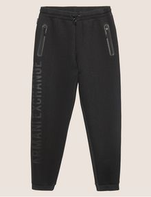 ARMANI EXCHANGE LOGO PRINT BONDED SWEATPANT Fleece Trouser [*** pickupInStoreShippingNotGuaranteed_info ***] r