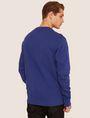 ARMANI EXCHANGE HIGH-SHINE EMBOSSED LOGO SWEATSHIRT Sweatshirt [*** pickupInStoreShippingNotGuaranteed_info ***] e