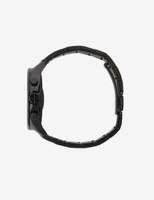 ARMANI EXCHANGE Touchscreen Smartwatch mit schwarzem Stahlarmband Uhr E a