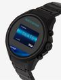 ARMANI EXCHANGE BLACK STAINLESS STEEL TOUCHSCREEN SMARTWATCH Smartwatch E r