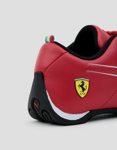 Scuderia Ferrari Online Store - Children's Puma SF Future Cat Ultra shoes - Active Sport Shoes