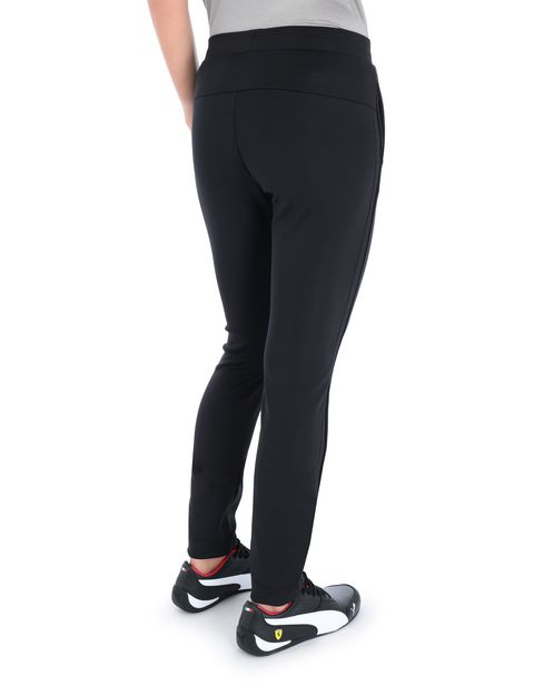 Slim-fit women's trousers with side stripes