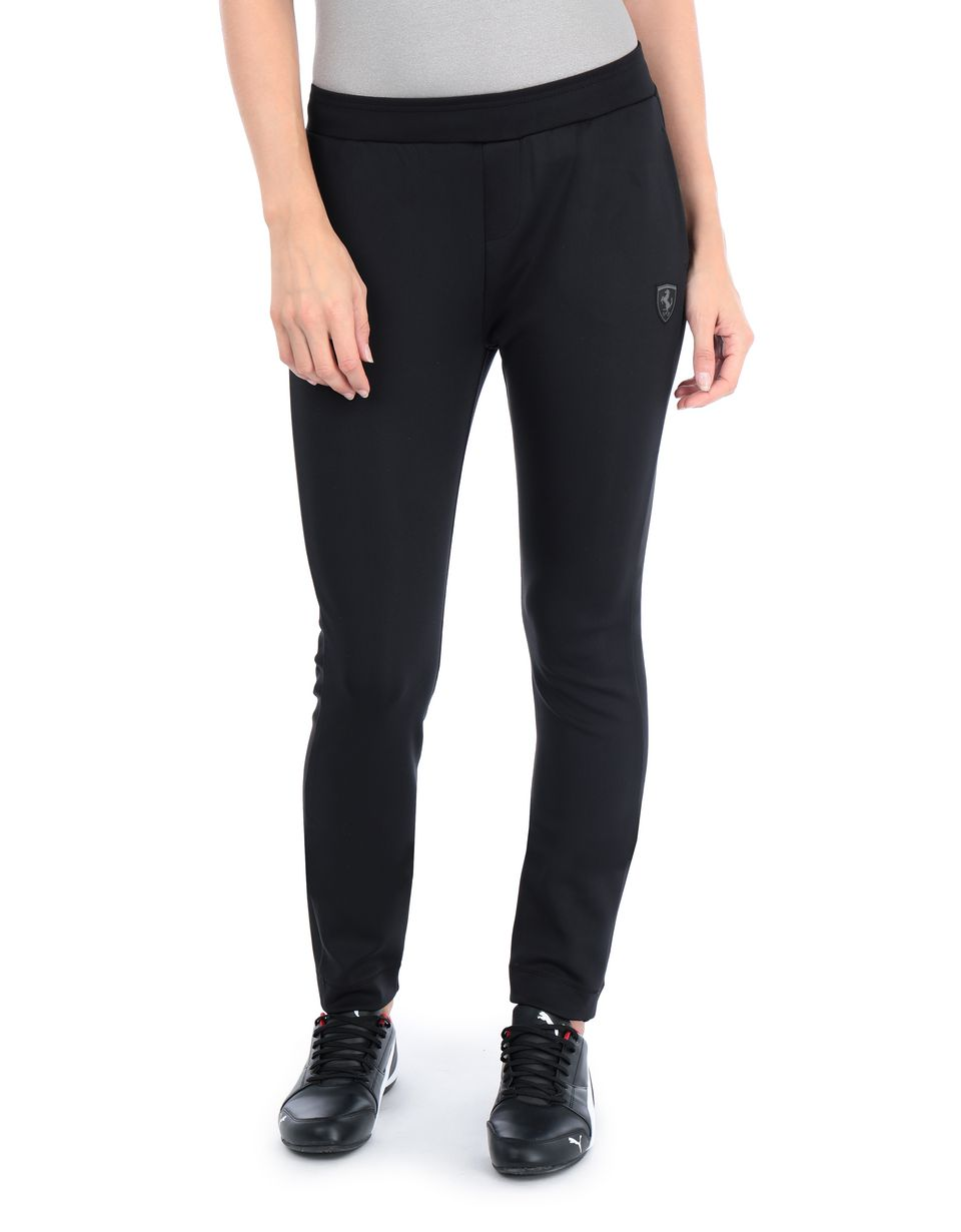Scuderia Ferrari Online Store - Slim-fit women's trousers with side stripes - Joggers