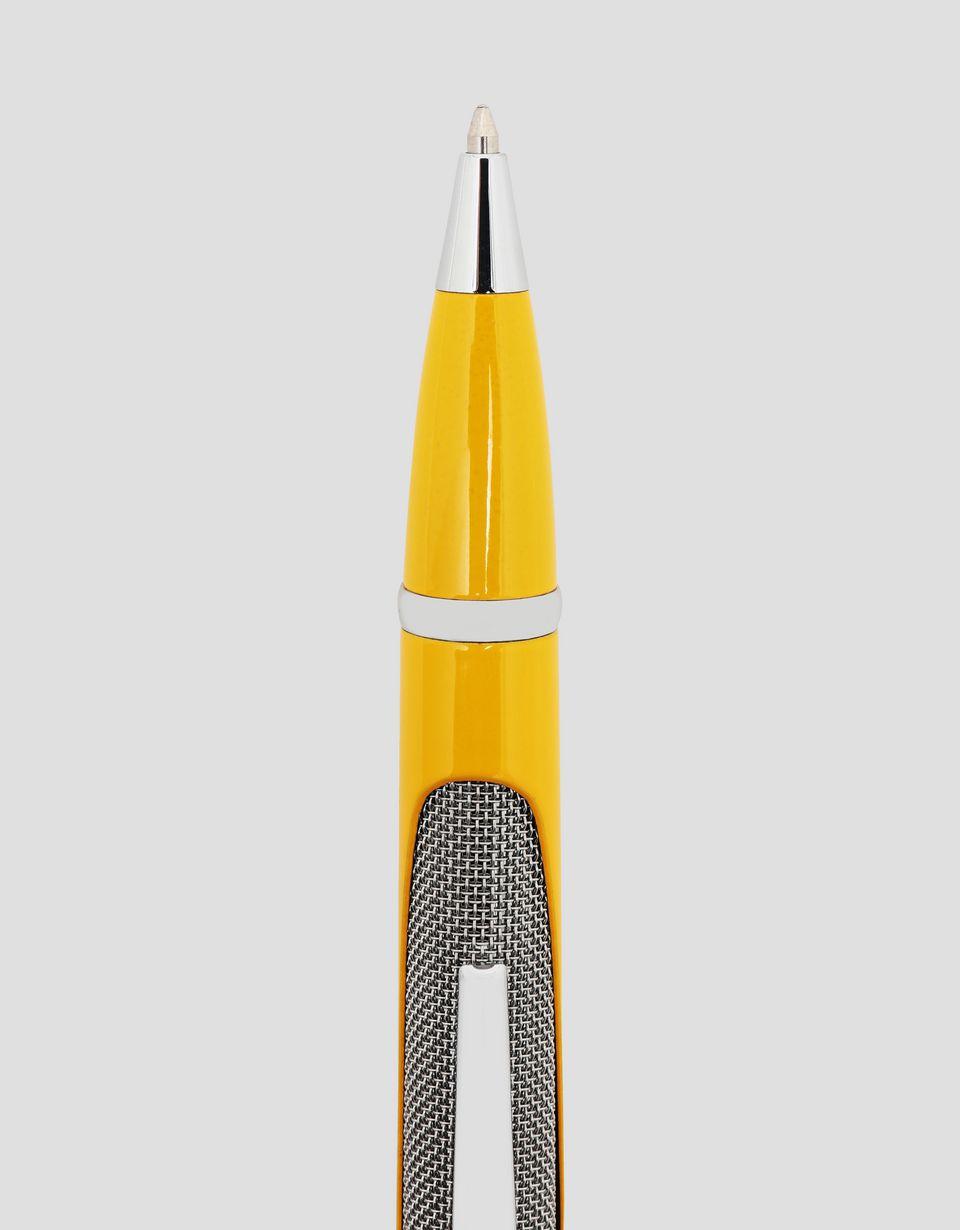 Scuderia Ferrari Online Store - Yellow Fiorano Scuderia Ferrari ballpoint pen - Ballpoint Pens