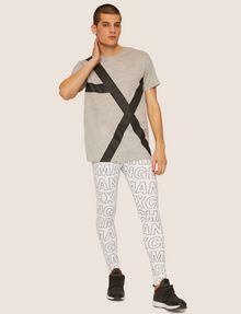 ARMANI EXCHANGE LOOSE-FIT OVERSIZED LINE LOGO CREW Graphic T-shirt [*** pickupInStoreShippingNotGuaranteed_info ***] d