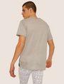 ARMANI EXCHANGE LOOSE-FIT OVERSIZED LINE LOGO CREW Graphic T-shirt [*** pickupInStoreShippingNotGuaranteed_info ***] e