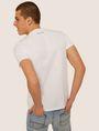 ARMANI EXCHANGE SLIM-FIT STUDDED VARSITY LOGO CREW Logo T-shirt [*** pickupInStoreShippingNotGuaranteed_info ***] e