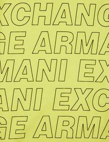 ARMANI EXCHANGE BOYS LOOSE-FIT ALLOVER LOGO CREW Logo T-shirt [*** pickupInStoreShippingNotGuaranteed_info ***] e