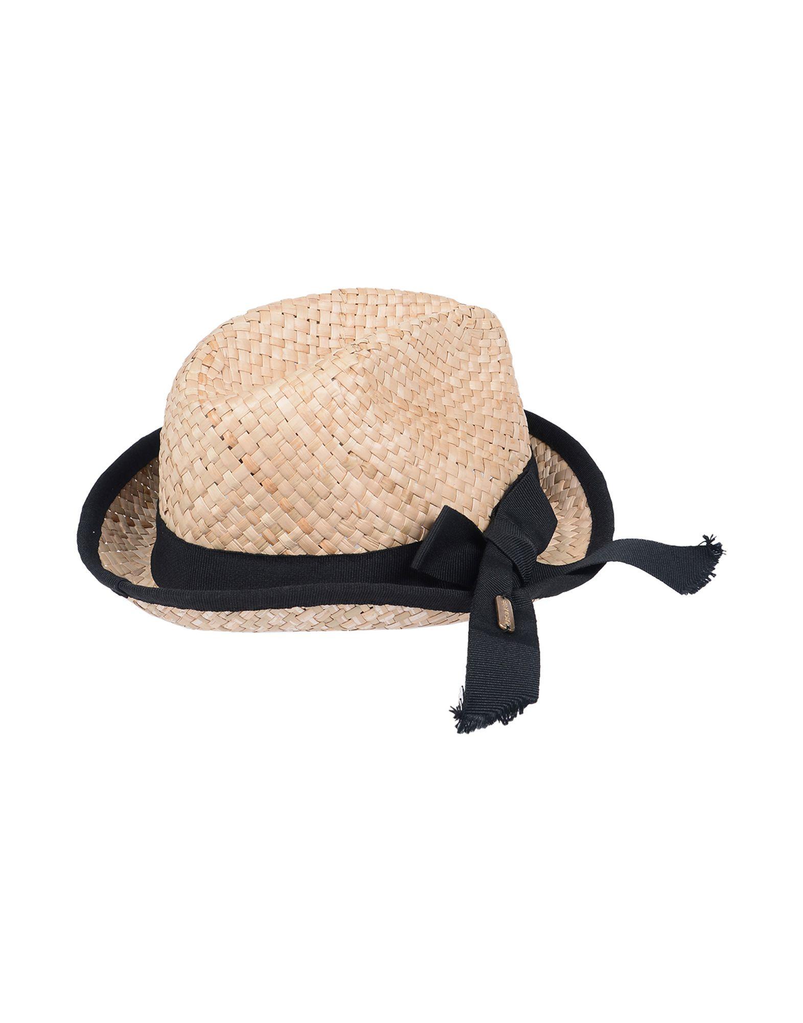《送料無料》CRISTINAEFFE レディース 帽子 サンド 57 ストロー 100%