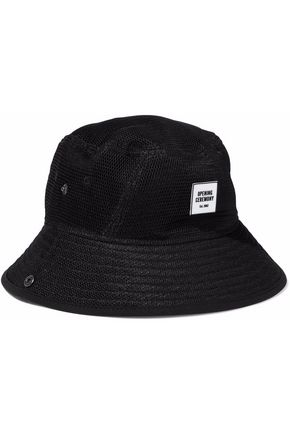 OPENING CEREMONY Appliquéd mesh bucket hat