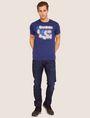 ARMANI EXCHANGE SLIM-FIT NEON SIGN CREW Logo T-shirt [*** pickupInStoreShippingNotGuaranteed_info ***] d
